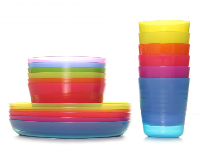 Plates, cups, bowls…