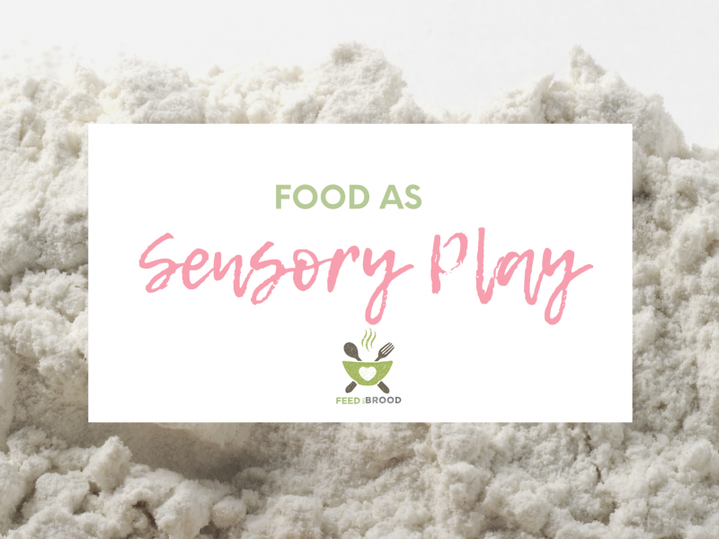 Food as Sensory Play