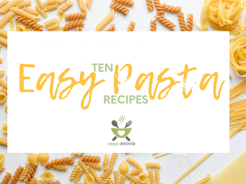 Ten easy pasta recipes